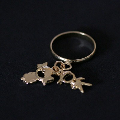 News and Releases: Rings and Necklaces Gold Plated and Earrings in 18k Gold 0750