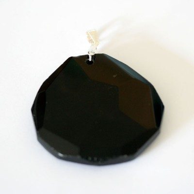News and Releases: Silver Pendants 925 with Natural Stone Agata Agata Black White, Jade and Rose Quartz
