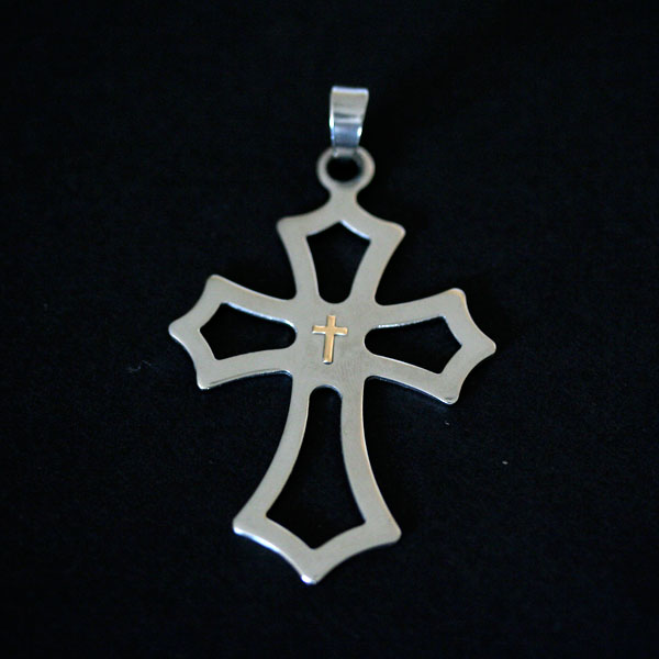 News of the Week Steel with Gold Jewelry, Pendants Times Corinthians, Palmeiras and Sao Paulo