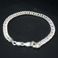 Bracelet 925 Silver Links 20cm / 6mm