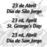 April 23rd - St Georges Day