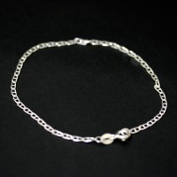 Brazalete de plata 925 enlaces de 20 cm / 2 mm