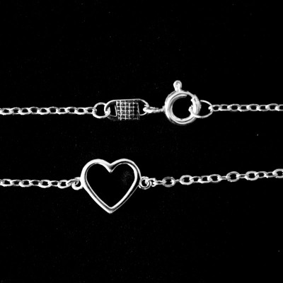 Pulseira de Prata 925 Luck in Love 14/20cm