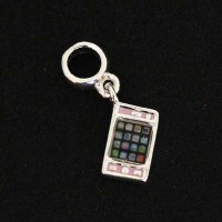 Trinket of 925 Children Cell Phone with Resin Bracelet Moments of Life