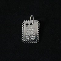 925 Silver Pendant The Lord is my Shepherd