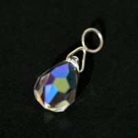 Silver Pendant with Crystal Stone