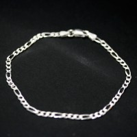 Brazalete de plata 925 enlaces de 18 cm / 2 mm