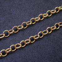 Bracelet in Yellow Gold Work 19cm