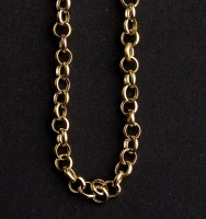 Necklace Yellow Gold Portuguese 40 cm
