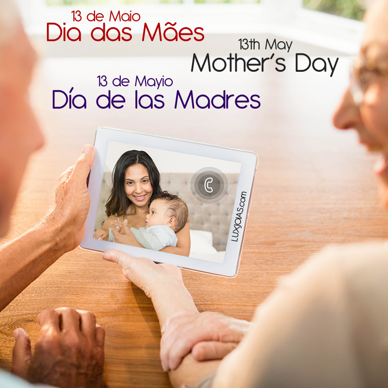 May 13 - Mother's Day - Jewelry the special gift for all mothers