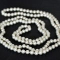 Pearl Necklace Glass 150cm
