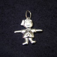 Pendants Silver 925 Girl