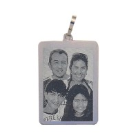 Silver pendants for recording picture 30mm x 21mm