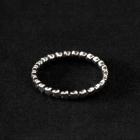 Aged 925 Silver Ring