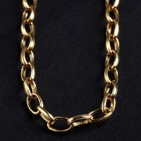 Necklace Italian 18k Yellow Gold