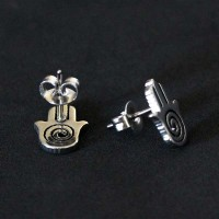 Stainless Steel Earring Hand of Fatima