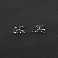 Love Surgical Steel Earring
