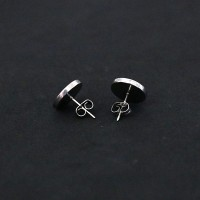 Surgical Steel Earring with Zirconia
