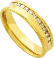 Alliance Anatomy 750 with 18k Gold 30 Diamonds 2.25 Points Width 5.50mm Height 1.60mm