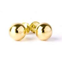 Earring Ball Average Yellow Gold