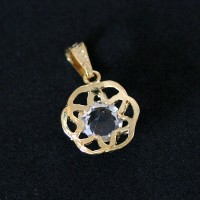 Semi pendant jewelry Gold Plated Moments