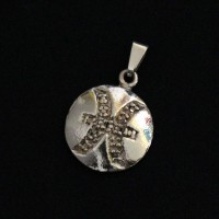 Pendant Semi Jewelry Gold Plated Pisces Signs
