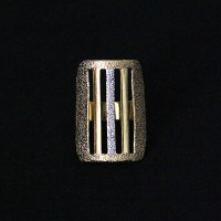 Semi Gold Plated Jewelry Ring