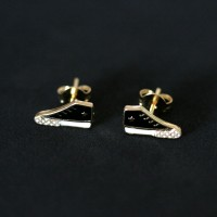 Earring Gold Plated Jewelry Semi Allstar Tennis