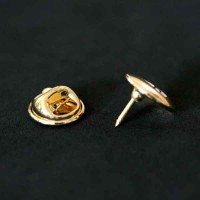 Bottom Brooch Gold Plated Administration