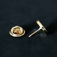 Bottom Brooch Gold Plated Agronomy