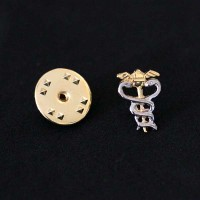 Bottom Brooch Gold Plated Accounting
