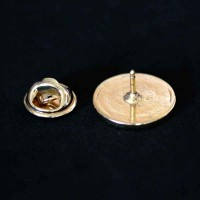 Bottom Brooch Gold Plated Ophthalmology