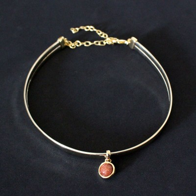 News and Releases: Semi Jewelry Gold Plated with Natural Stone: Necklaces, Choker, Earrings, Pendants, Bracelets