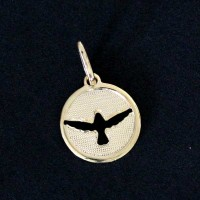 Pendant Semi Jewelry Gold Plated Holy Spirit Pendant