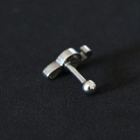 Piercing Tragus Surgical Steel 316L Key of Sun 1,2mm x 6mm