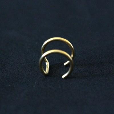 Novidades e Lançamentos: Piercings de Aço Cirúrgico Folheado a Ouro