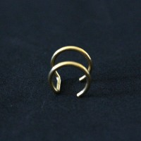 Piercing Helix Fake Gold Plated Yellow Gold 24k 1,2mm