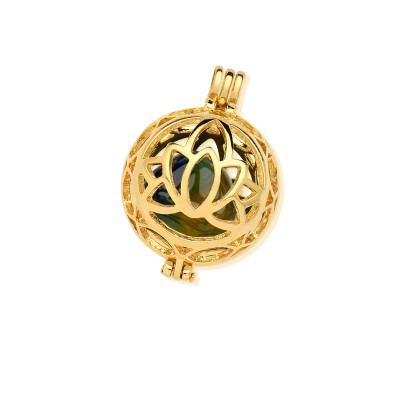 Gold Plated Semi Jewelry: Ring, Earrings and Pendants with Natural Stones