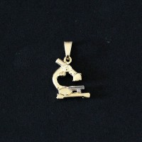 Pendant Semi Jewelry Gold Plated Bio Medicine