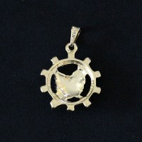 Pendant Semi Jewelry Gold Plated Economy