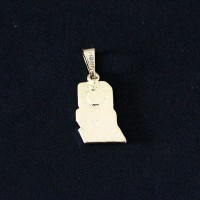 Pendant Semi Jewelry Gold Leaf Computing