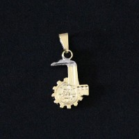 Pendant Semi Jewelry Gold Plated Production Engineering