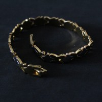 Gold Plated Surgical Steel Bracelet 18cm / 0.7cm