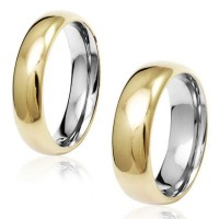 Alliance Anatomic Stainless Steel 5 mm with Golden Cover / Alliance Anatomic Stainless Steel 7 mm with Golden Cover