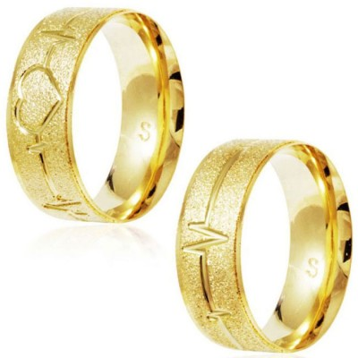 New Models of Engagement or Dating Alliances in Stainless Steel, Gold and Silver Plated 925