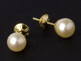 Earring with Pearl
