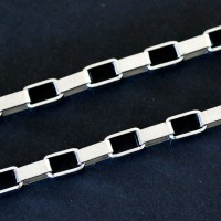 Chain Steel Links Cartier Square 70cm / 4mm