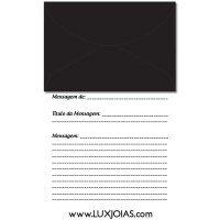Black Envelope Printing 72mmx108mm 80g + Message Sulfite Paper A4 108mm Width