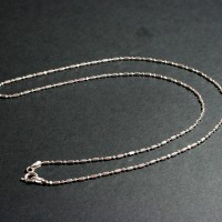 Silver Necklace 50 cm / 4mm