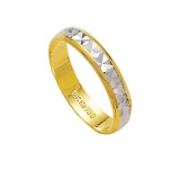 Alliance Gold and 18k White Gold 750 Width 4.00mm Height 1.00mm